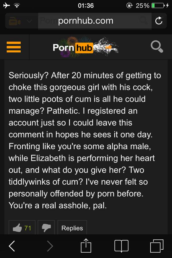 Pornhub Viewers Have Been Posting Really Bizarre Comments Header