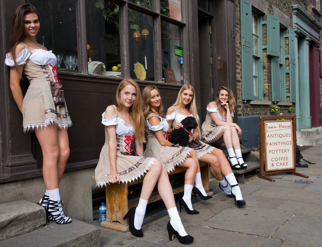 Oktoberfest Is Coming To London And It's Set To Be Awesome Oktoberfest Girls Brushfield Street Paul Griffiths Photography 25 resized