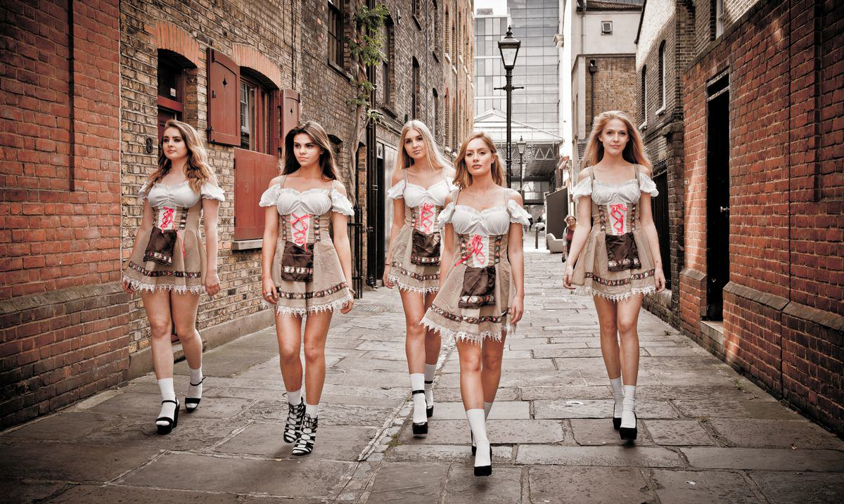 Oktoberfest Is Coming To London And It's Set To Be Awesome Oktoberfest Girls Brushfield Street Paul Griffiths Photography 37 resized