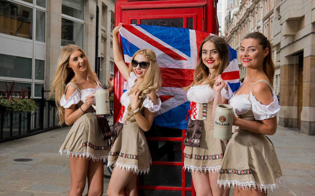 Oktoberfest Is Coming To London And It's Set To Be Awesome Oktoberfest Girls Old Broad St St Mary Axe Paul Griffiths Photography 10 resized