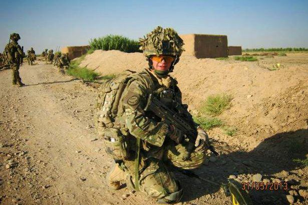 Young Soldier Survived Afghanistan Only To Be Killed On Streets Of His Home Town PAY Soldier Dave Curnow 3