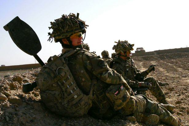 Young Soldier Survived Afghanistan Only To Be Killed On Streets Of His Home Town PAY Soldier Dave Curnow
