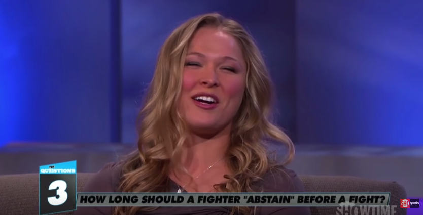 Ronda Rousey Reveals She Has As Much Sex As Possible Before Fights, And Why Ronda Rousey