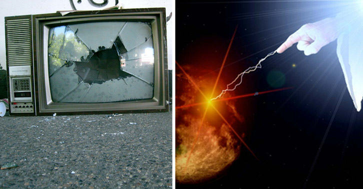 Currys Refused To Repair TV As They Said It Was Broken By 'Act Of God' SM17