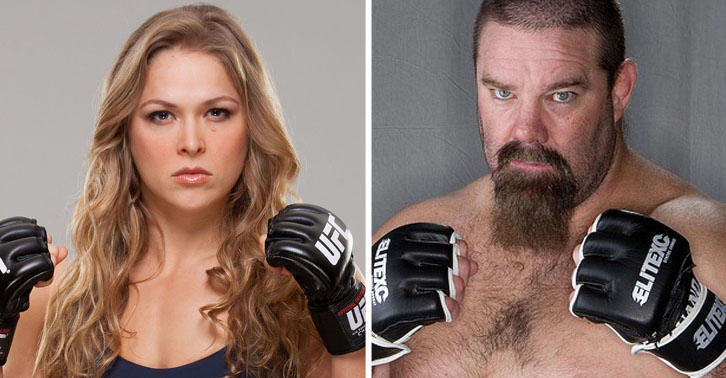 UFC Veteran Says He Will Pay Ronda Rousey $1,000,000 If She Can Beat Him SM22