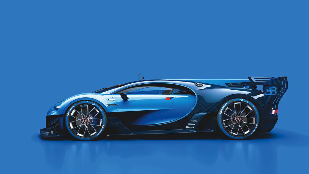 The New Car Bugatti Created For Gran Turismo 6 Is Achingly Beautiful UNILAD 02 Bugatti VGT ext side CMYK high.03