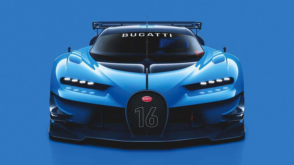 The New Car Bugatti Created For Gran Turismo 6 Is Achingly Beautiful UNILAD 03 Bugatti VGT ext front CMYK high.04