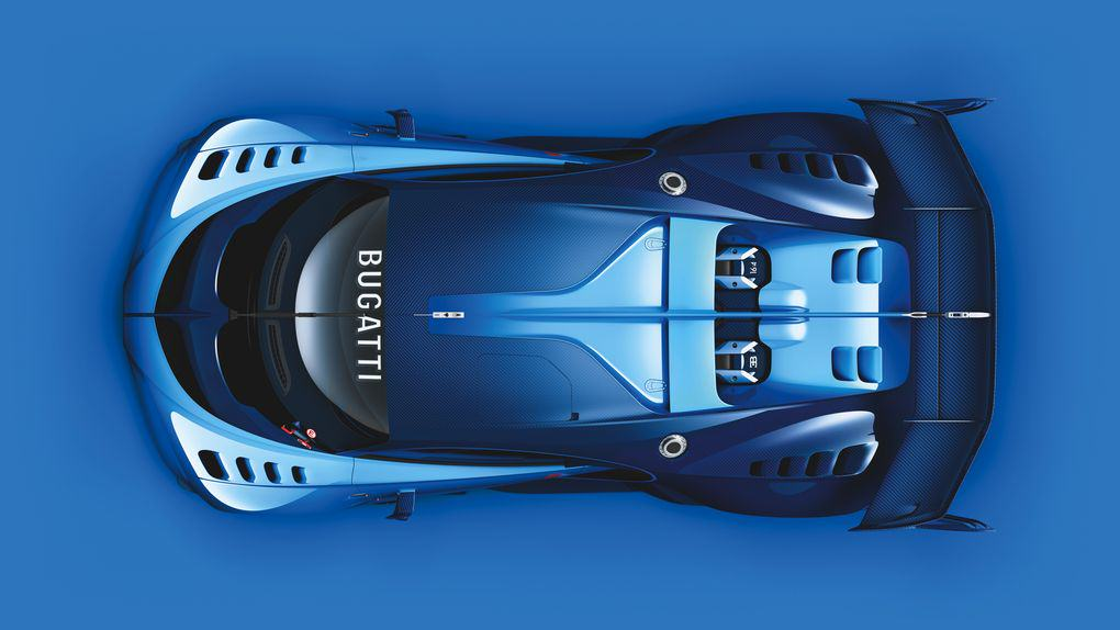 The New Car Bugatti Created For Gran Turismo 6 Is Achingly Beautiful UNILAD 05 Bugatti VGT ext top CMYK high.02