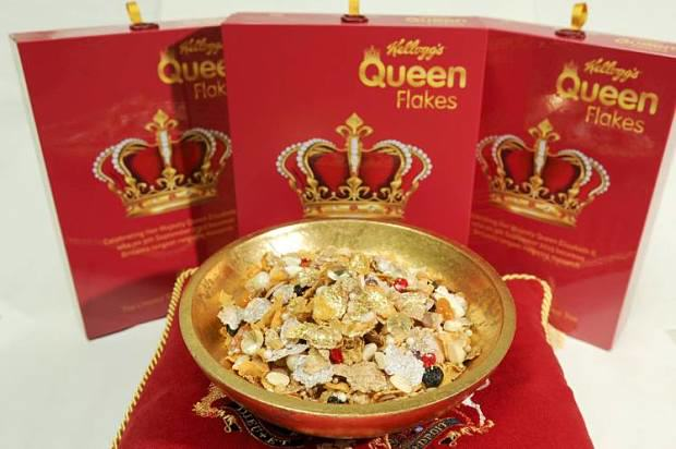 Kelloggs Create Cereal With Edible Jewels To Celebrate The Queens Record Reign UNILAD 133