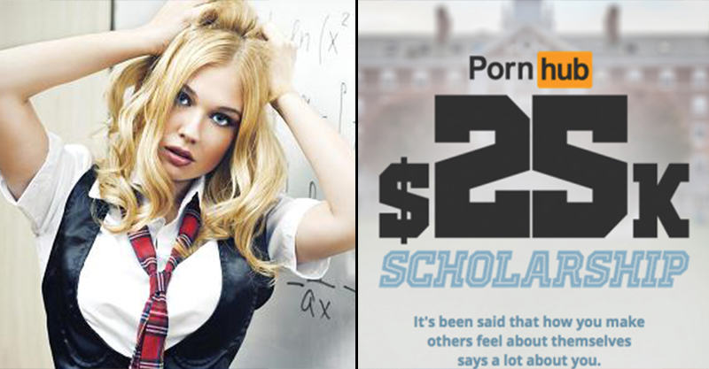 Pornhub Are Now Giving Away Scholarships As Well As Porn UNILAD 186