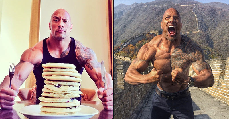 Why The Rocks Instagram Shits On Every Other Celebrity Instagram UNILAD 244