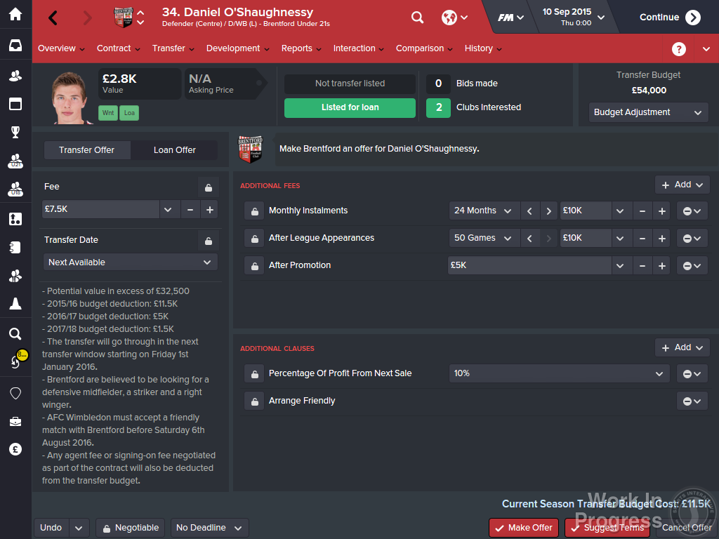 Football Manager 2016 Has A Release Date And A Ton Of New Features UNILAD 2933986 fm 2016 02   transfer offer 14413850615
