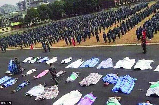 Chinese Students Forced To Sleep Under Thick Blankets In Sweltering Heat For What? UNILAD 2C74912100000578 3239708 image a 1 14425683345552