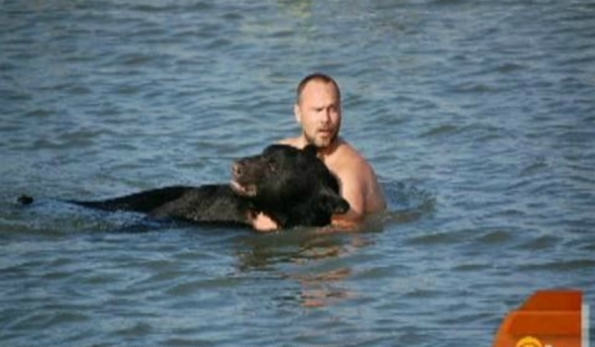 Amazing Story Of Brave Man Who Saved The Life Of A Black Bear UNILAD 373
