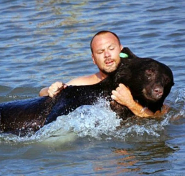 Amazing Story Of Brave Man Who Saved The Life Of A Black Bear UNILAD 54