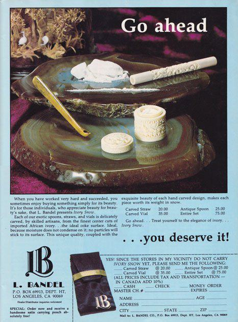 Shameless Cocaine Accessories Show The 70s Were A Helluva Time To Be Alive UNILAD 70s35