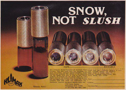 Shameless Cocaine Accessories Show The 70s Were A Helluva Time To Be Alive UNILAD 70s66