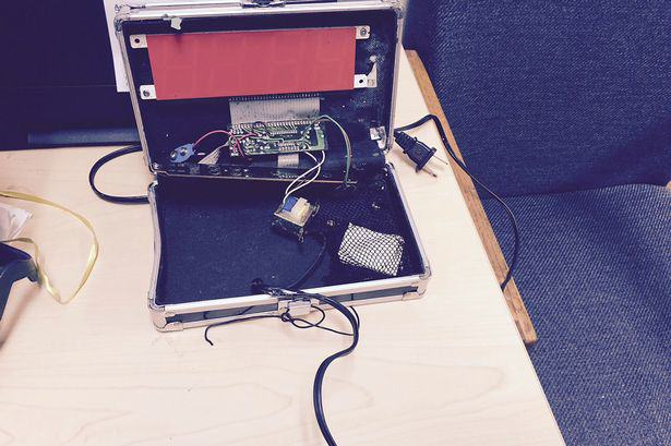 The Internet Came Together In Support Of Talented Inventor Ahmed Mohamed UNILAD A homemade clock made by Ahmed Mohamed Reuters2
