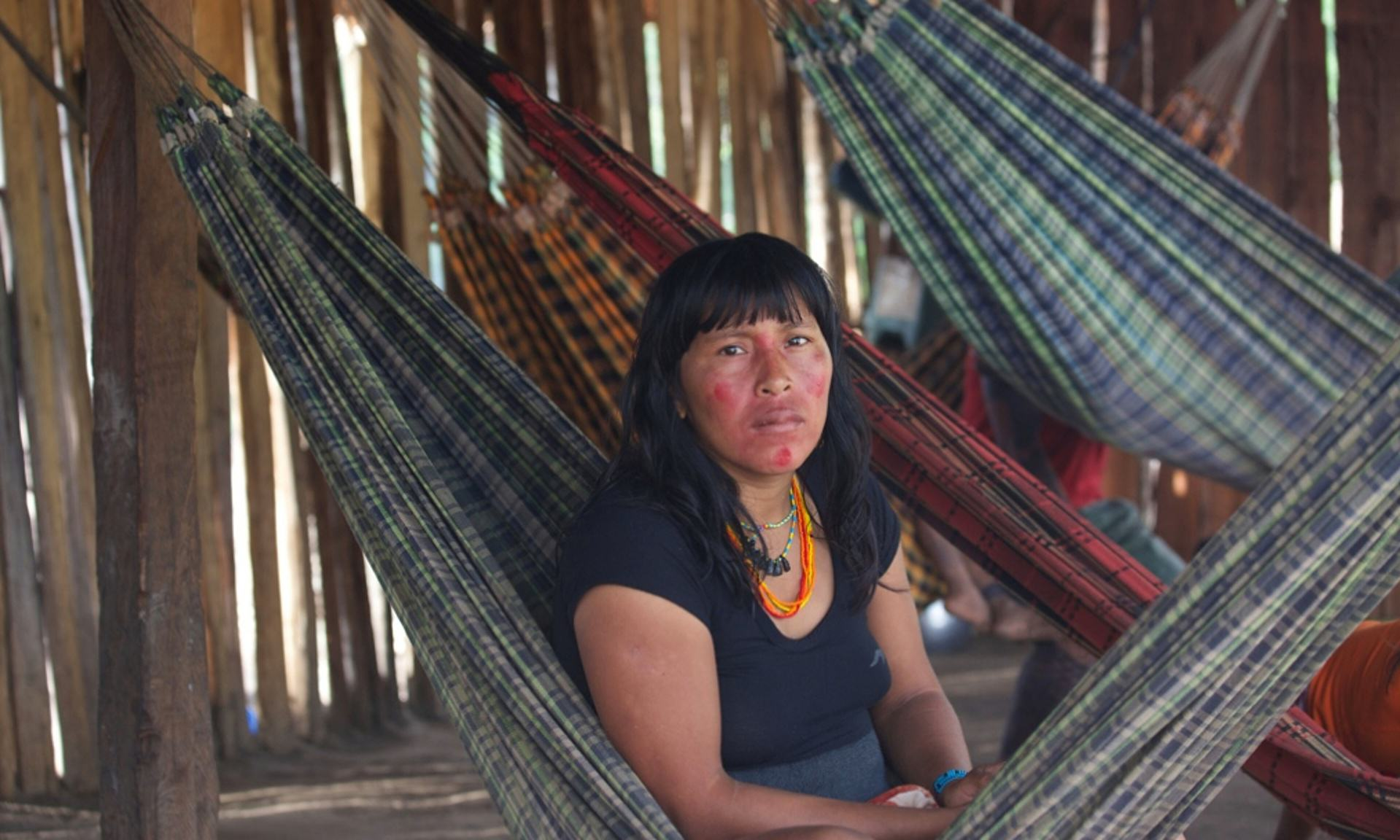 This Amazon Tribe Use Unusual Methods To Protect Their Land From Illegal Loggers UNILAD Ka'apor Indians have occupied a site formerly used by illegal loggers. Photograph Jonathan Watts for the Guardian8