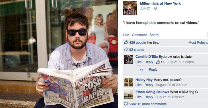 Humans Of New York Parody Account Rips Hipsters Apart UNILAD Millenials2Thumb6