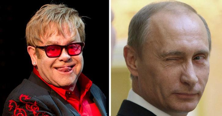 Apparently Someone's Been Phoning Elton John And Pretending To Be Putin UNILAD SMelton6