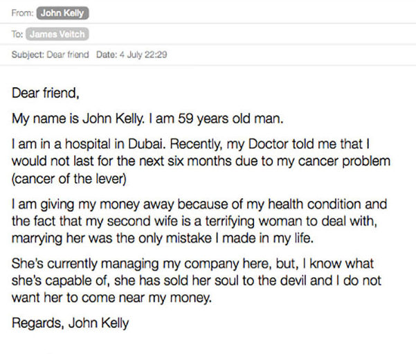 Comedian Responds To Spam Emails, Compiles Results Into Hilarious Book UNILAD Screen Shot 2015 09 06 at 21.34.444