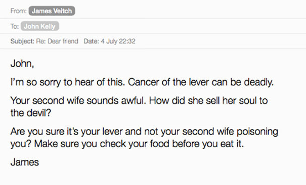 Comedian Responds To Spam Emails, Compiles Results Into Hilarious Book UNILAD Screen Shot 2015 09 06 at 21.35.057