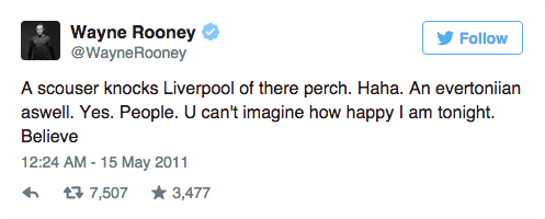Wayne Rooneys Twitter Account Is An Absolute Goldmine UNILAD Screen Shot 2015 09 09 at 15.02.597