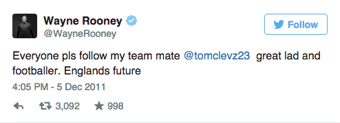 Wayne Rooneys Twitter Account Is An Absolute Goldmine UNILAD Screen Shot 2015 09 09 at 15.05.392