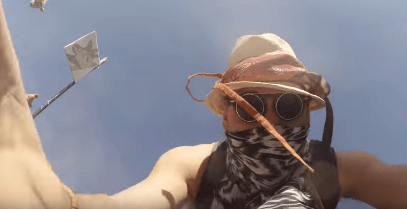 GoPro Falls Off Drone And Captures This Amazing Footage Of Burning Man Festival UNILAD Screen Shot 2015 09 15 at 17.09.096