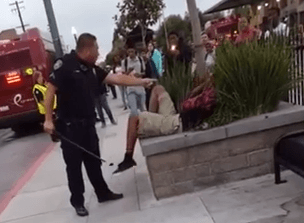 Cop Hits Teen In Face With Baton For Jaywalking UNILAD Screen Shot 2015 09 17 at 15.41.17 copy5