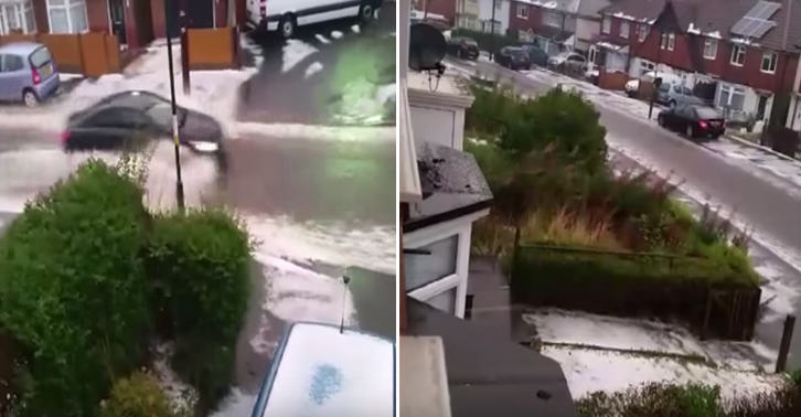 Summer Is Officially Over, As It SNOWS In Birmingham UNILAD TN16