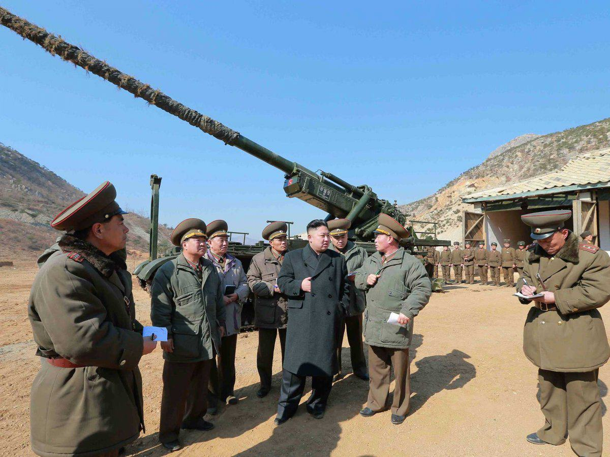 New Report Shows Just How Much Heat North Korea Is Packing UNILAD and those are actually small in comparison with some of the massive fixed guns in place to fire on south korean islands if a conflict breaks out8