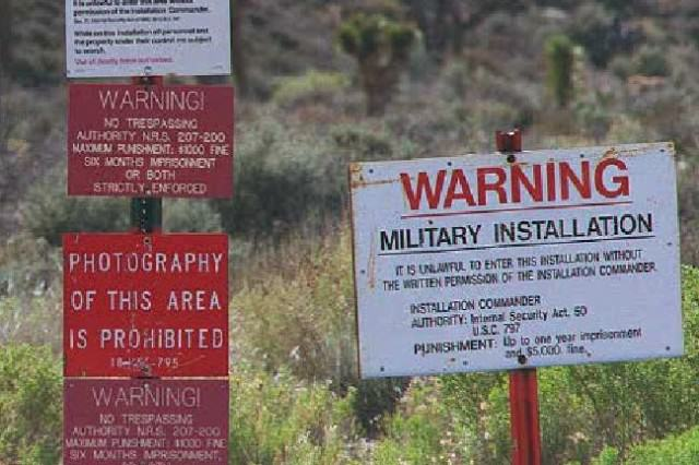 Area 51 Threatens To Destroy A Neighbours Land After Years Of Almost Exterminating Them %name