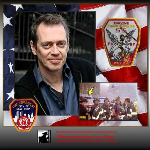 Steve Buscemi, The Retired Firefighter Who Joined His Old Unit To Help During 9/11 UNILAD buscemi 911 28