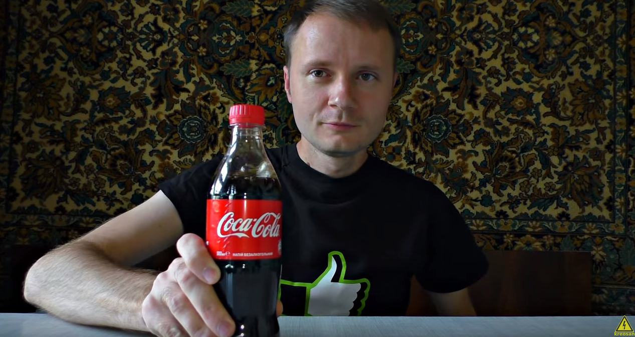 One Man Decided To Pump A Bottle Of Coke With Propane, Guess What Happens Next? UNILAD coke16