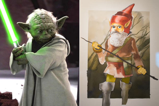 Early Movie Concept Art Shows How Different Your Favourite Characters Could Have Looked UNILAD concept art 18