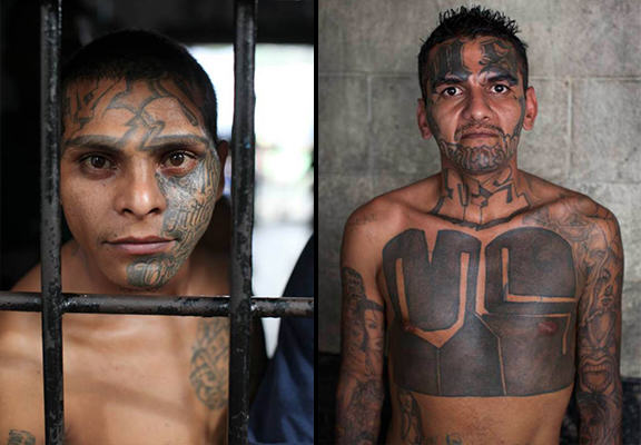 The El Salvador Gang Members So Feared That They Police Their Own Jail UNILAD el salvador prison WEB 48