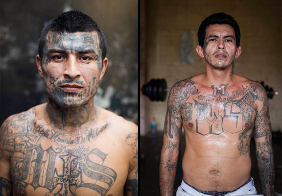 The El Salvador Gang Members So Feared That They Police Their Own Jail UNILAD el salvador prison WEB 53