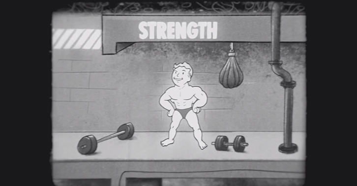 Fallout 4 Educational Video Shows Importance Of The Strength Attribute UNILAD fallout33