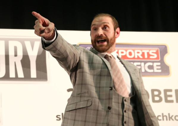 Tyson Fury Has Started A Twitter Campaign To Become An MP UNILAD fury mp2