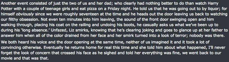 Reddit User Posts Really Creepy Experiences In Friends Severely Haunted House UNILAD haunted house screen 102