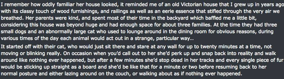 Reddit User Posts Really Creepy Experiences In Friends Severely Haunted House UNILAD haunted house screen 28