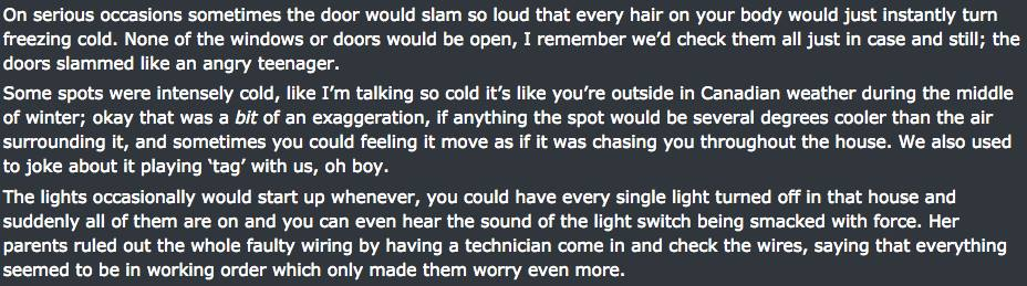 Reddit User Posts Really Creepy Experiences In Friends Severely Haunted House UNILAD haunted house screen 62