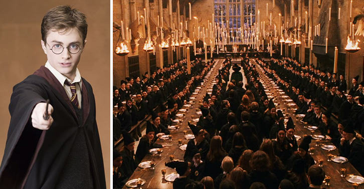 Harry Potter Fans Can Actually Dine In The Great Hall This Christmas UNILAD hogwarts great hall 32