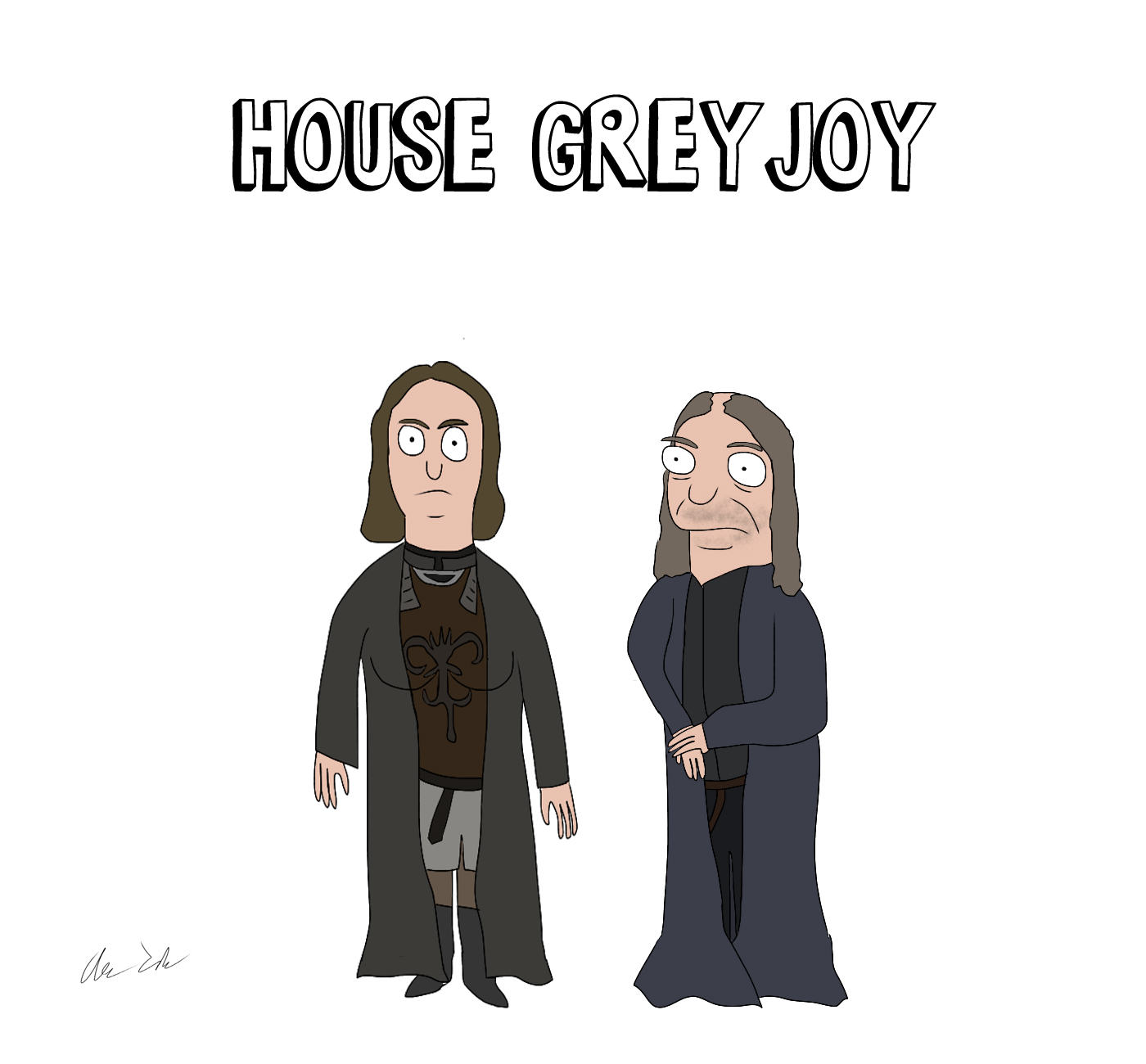 Someone Has Drawn Game Of Thrones Characters In The Style Of Bobs Burgers UNILAD house23