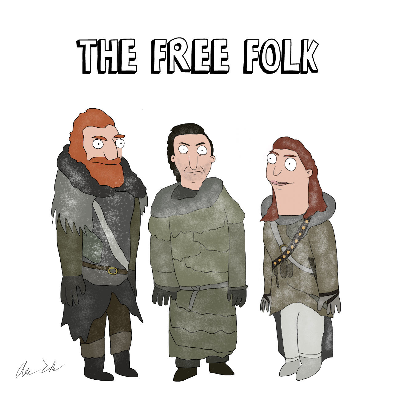 Someone Has Drawn Game Of Thrones Characters In The Style Of Bobs Burgers UNILAD house44