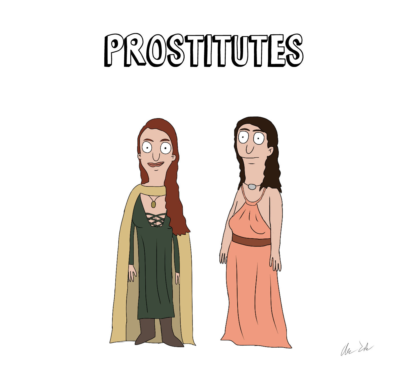 Someone Has Drawn Game Of Thrones Characters In The Style Of Bobs Burgers UNILAD house52