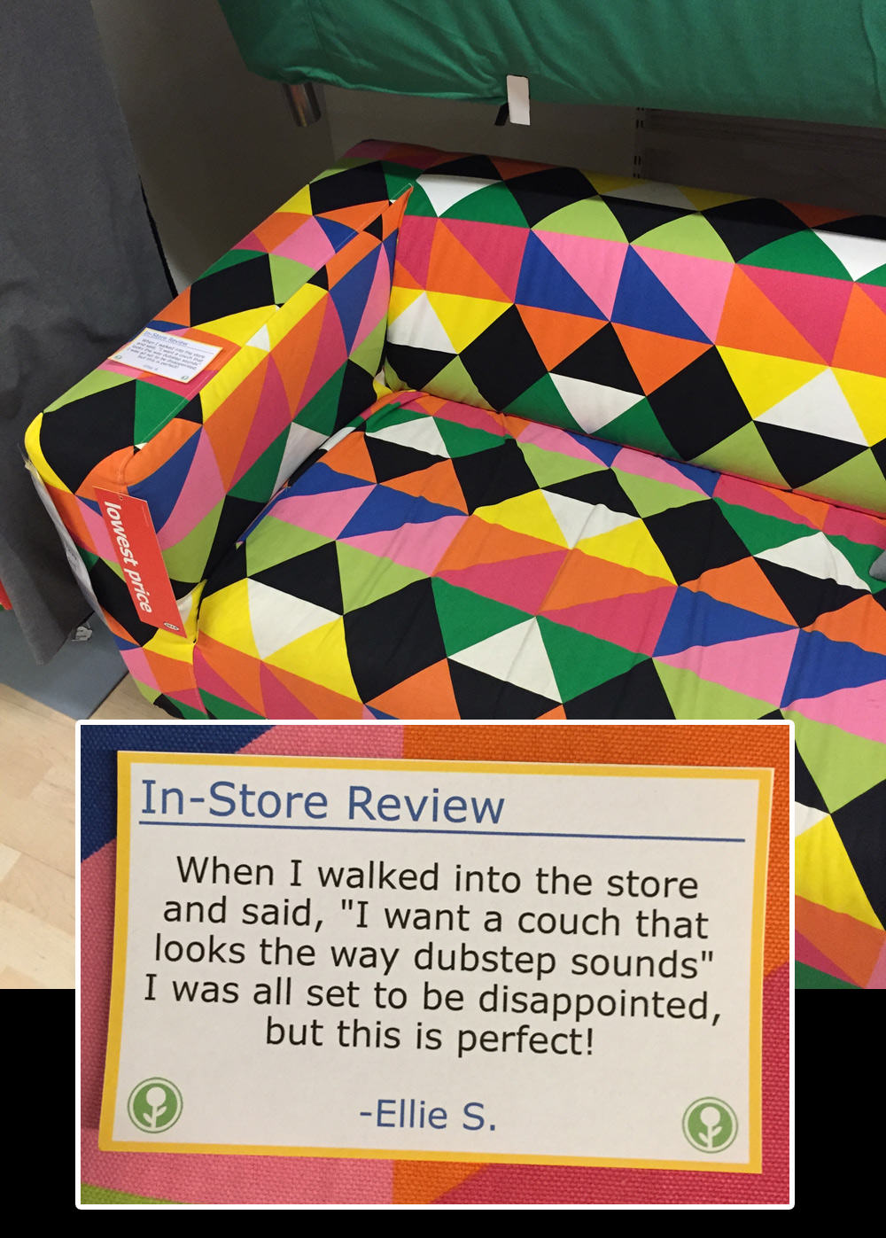 IKEA Has Been Trolled With Hilarious In Store Reviews UNILAD ikea12