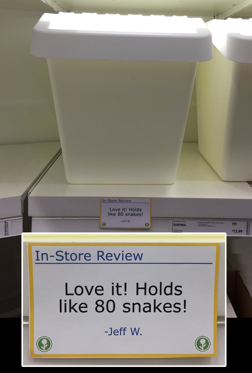 IKEA Has Been Trolled With Hilarious In Store Reviews UNILAD ikea46